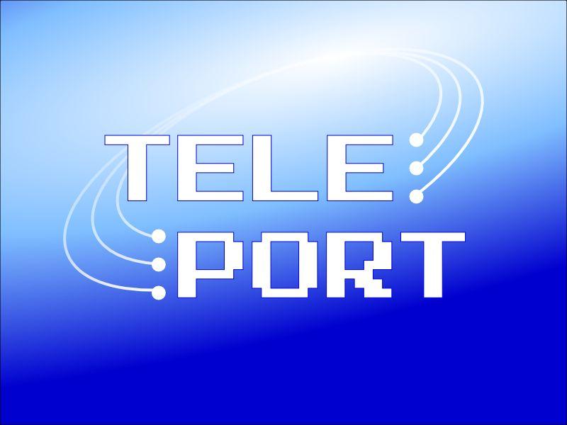 Логотип для Телепорт - дизайнер illari_sochi