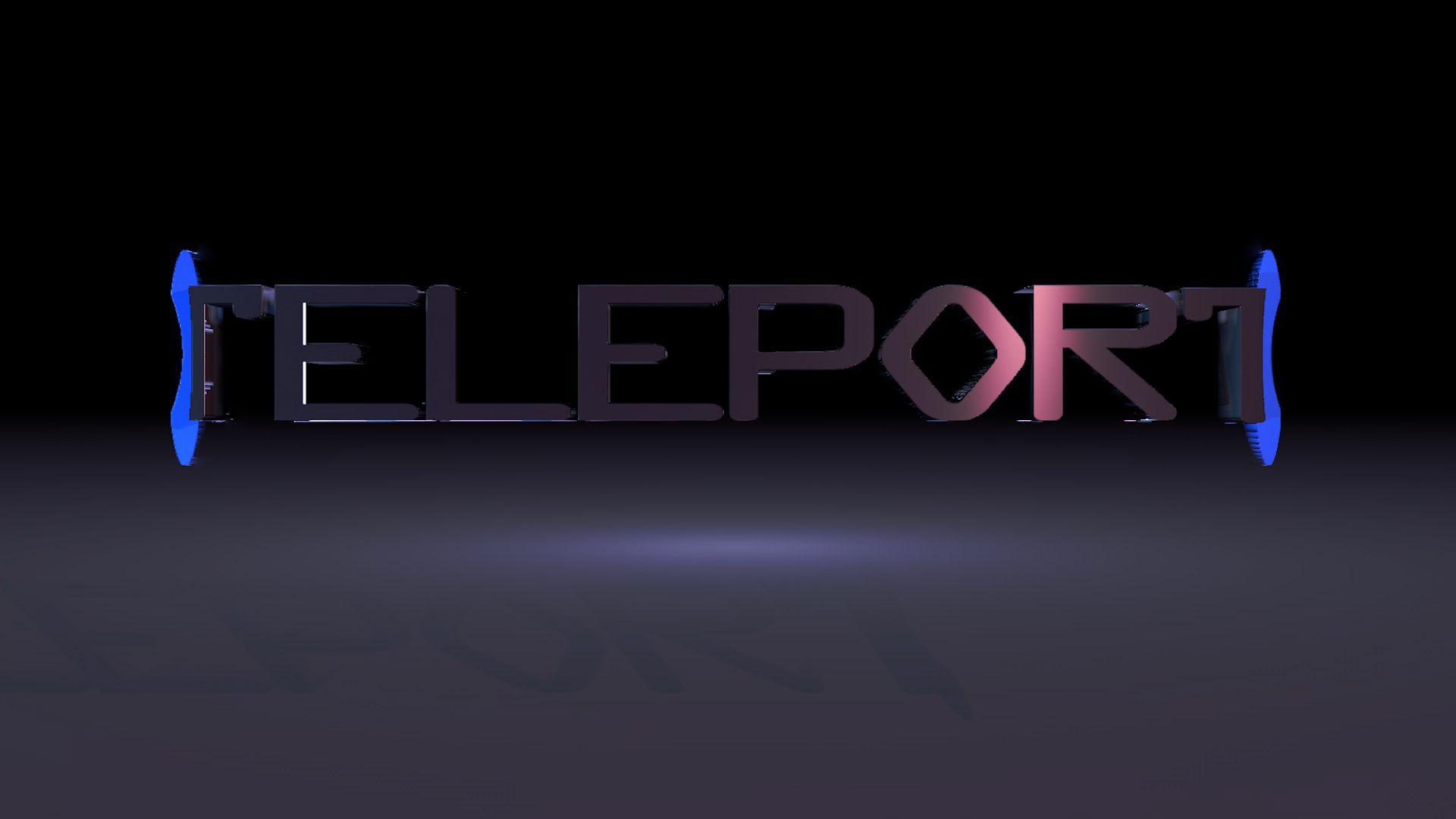 Логотип для Телепорт - дизайнер WolfM