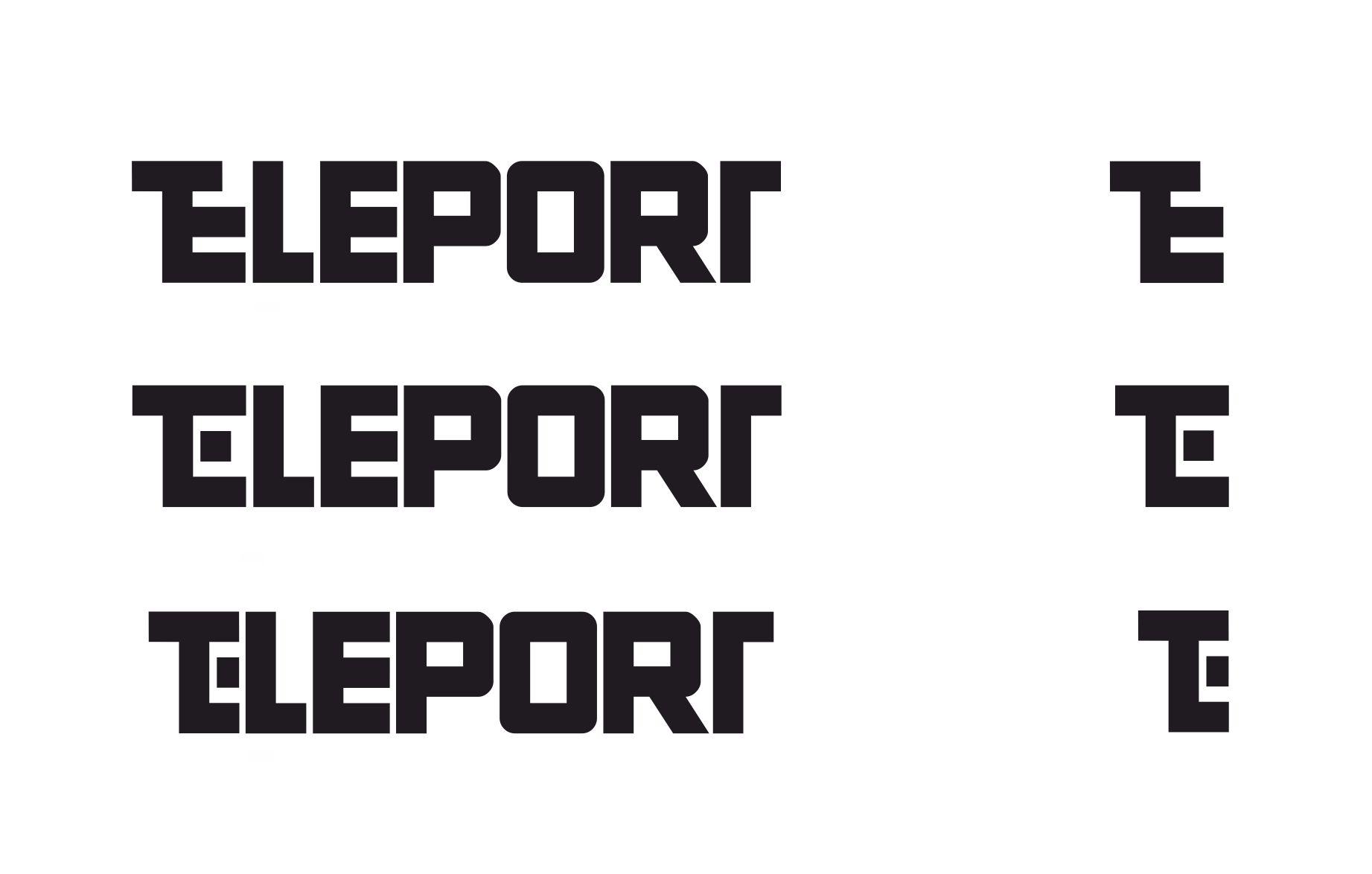 Логотип для Телепорт - дизайнер Ngr