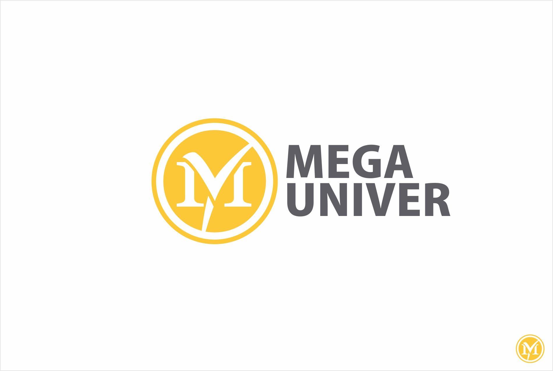 Разработка логотипа для сайта megauniver.ru - дизайнер kras-sky