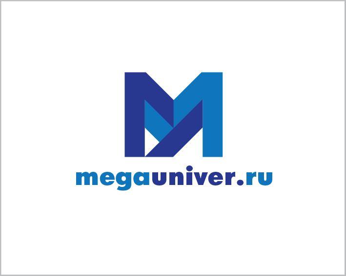 Разработка логотипа для сайта megauniver.ru - дизайнер FLINK62