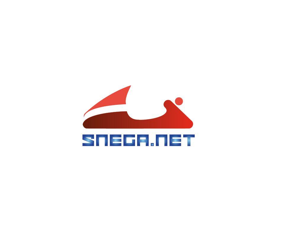 Разработка логотипа для сайта snega.net - дизайнер GVV