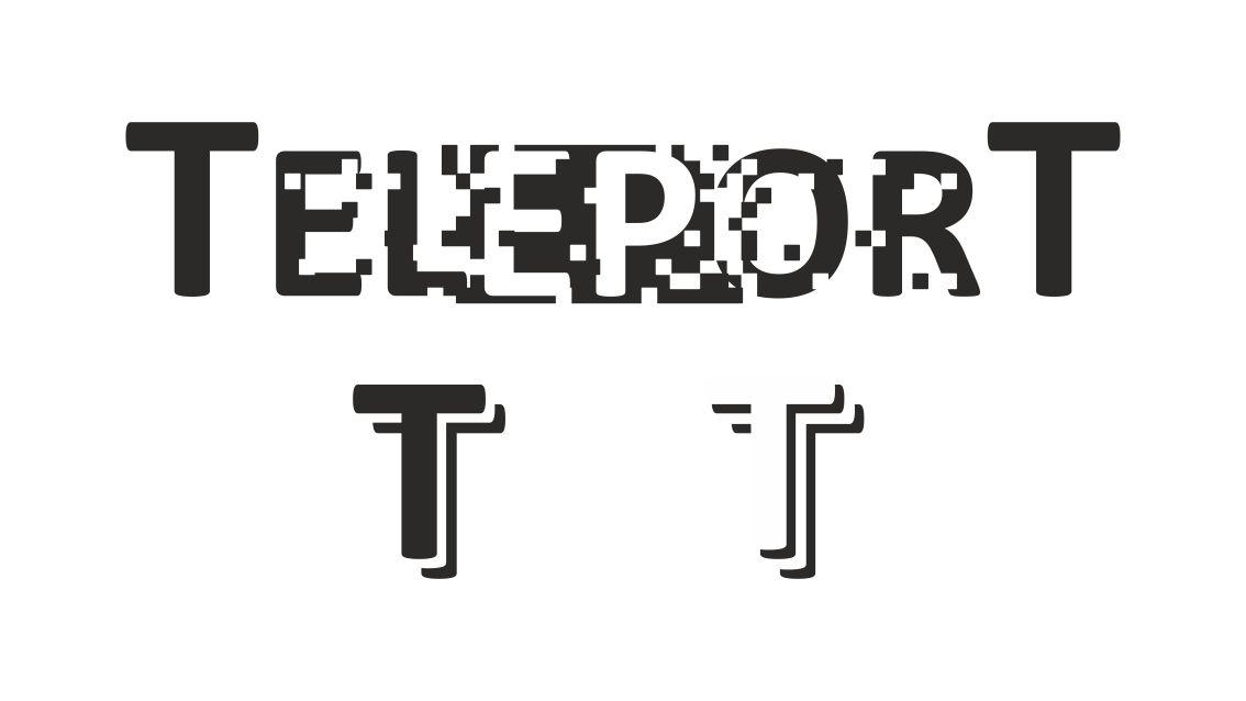 Логотип для Телепорт - дизайнер schief