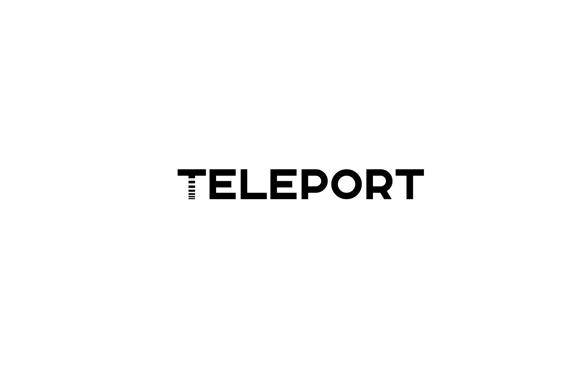 Логотип для Телепорт - дизайнер U4po4mak