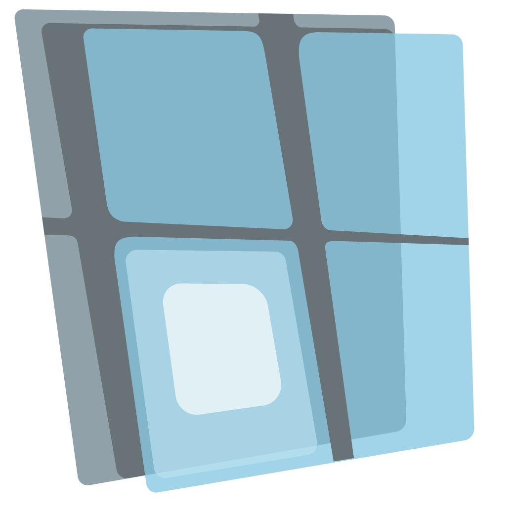 Логотип для портала по пластиковым окнам - дизайнер Espio_hero