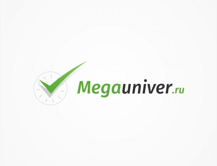 Разработка логотипа для сайта megauniver.ru - дизайнер TVdesign