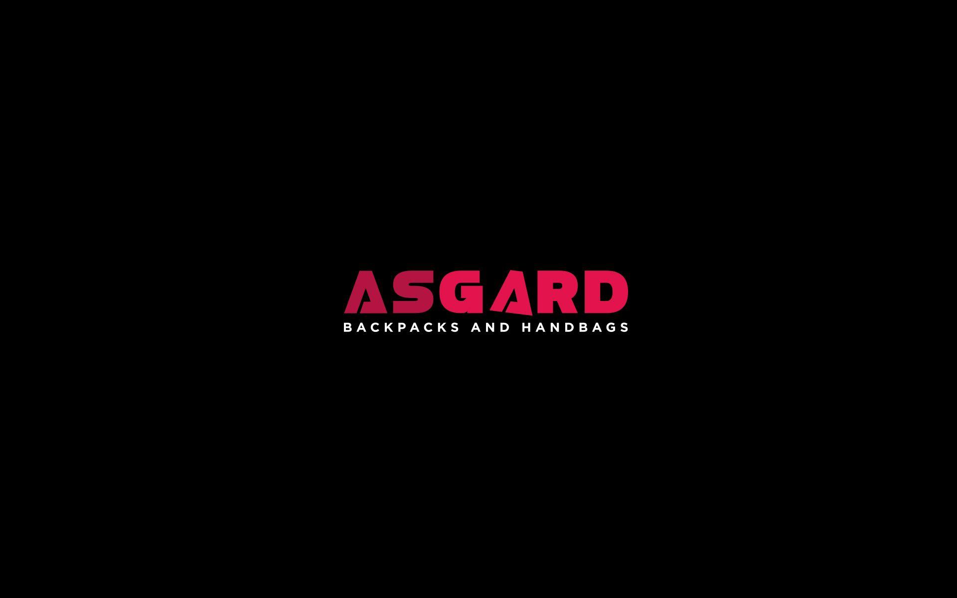 Логотип для рюкзаков и сумок ASGARD - дизайнер U4po4mak