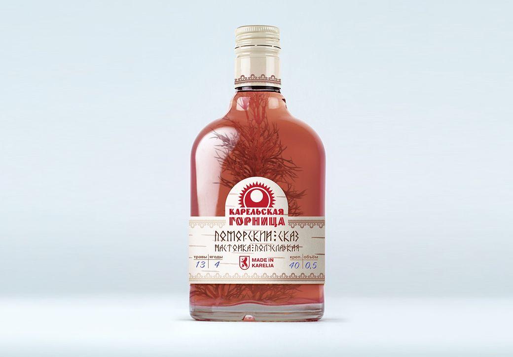 Этикетка для алкогольной продукции - дизайнер jurasico