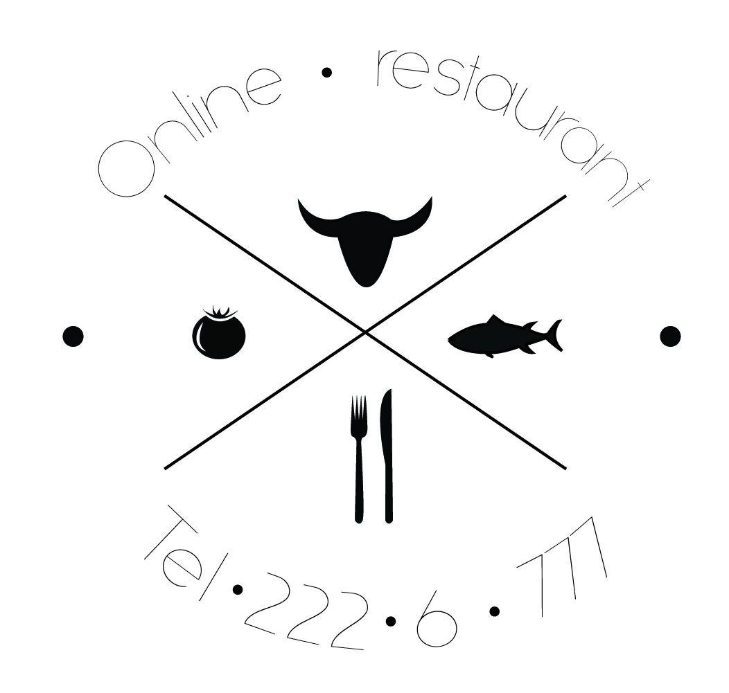 Разработка логотипа и ФС для интернет-ресторана - дизайнер evamiller