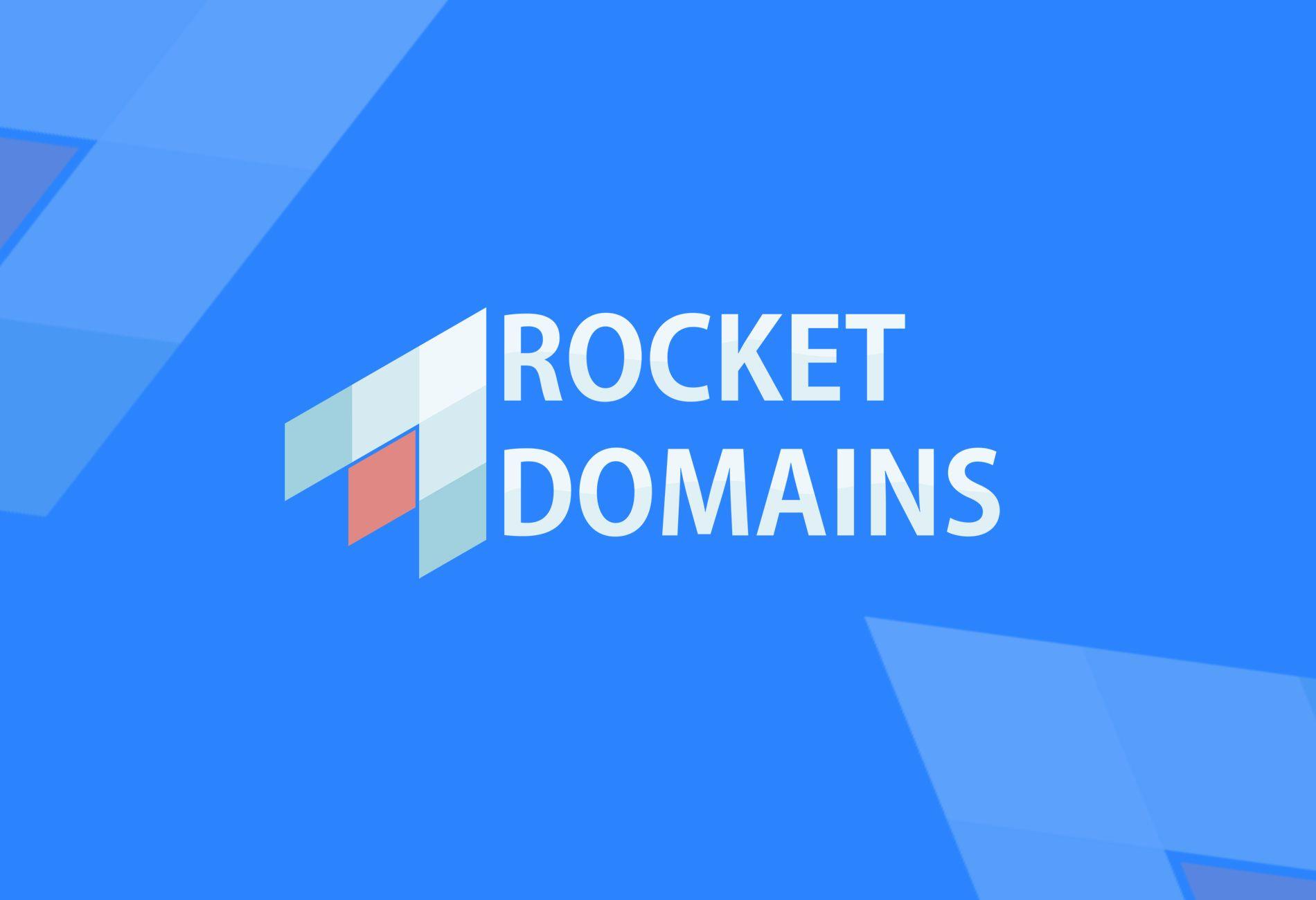 Логотип для регистратора RocketDomains.ru - дизайнер AzazelArt