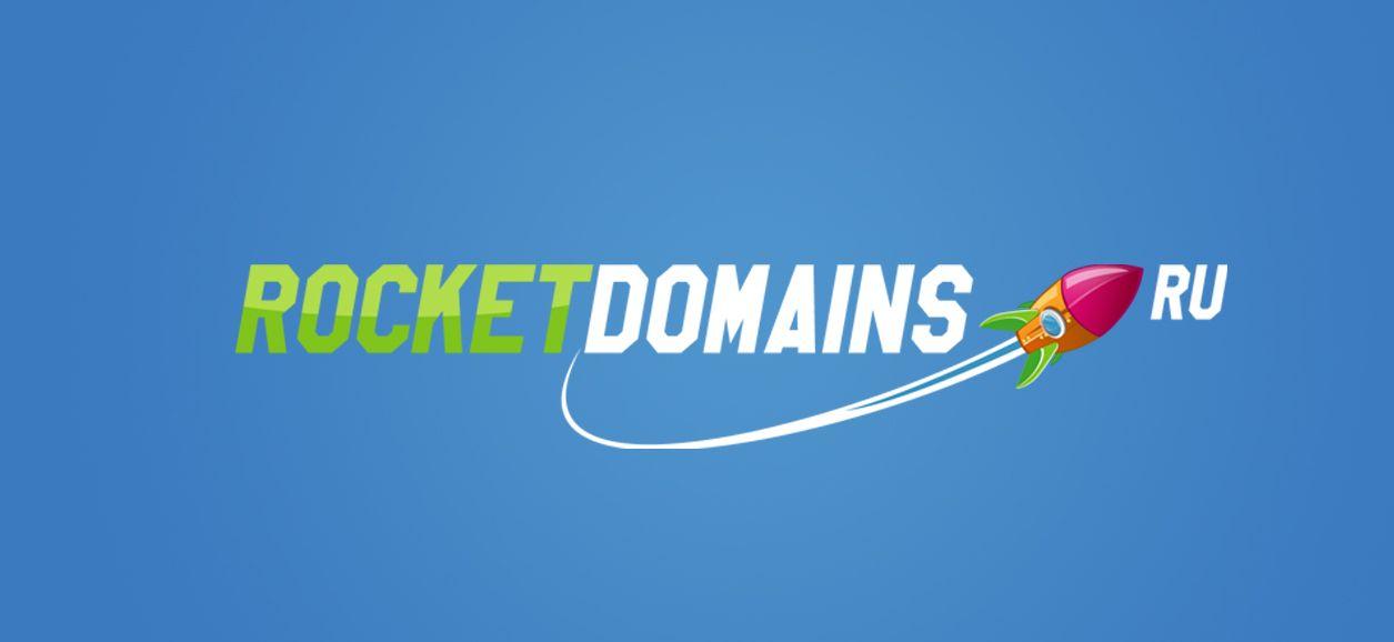 Логотип для регистратора RocketDomains.ru - дизайнер Archer