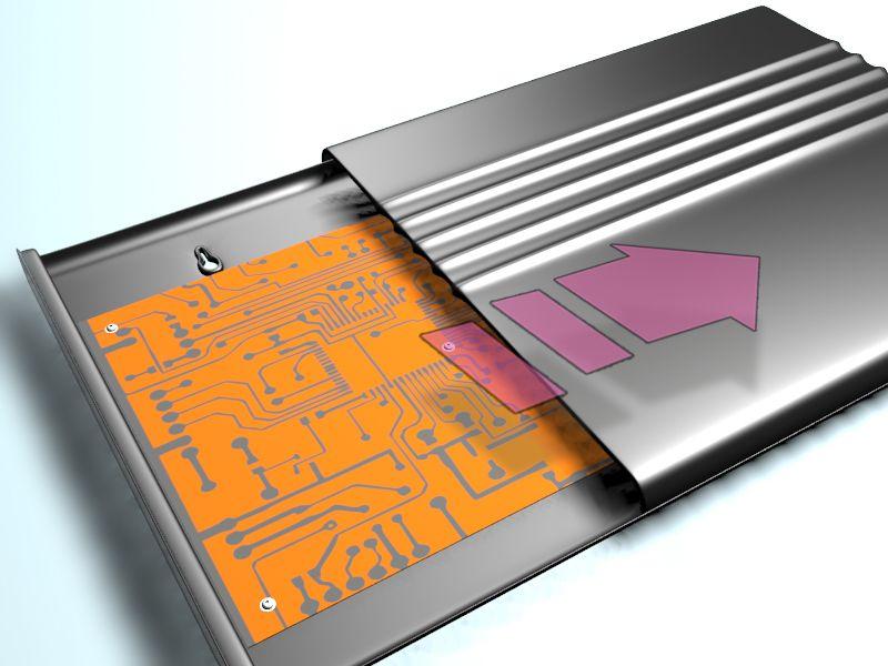 Корпус пластиковый для радиоэлектронной аппаратуры - дизайнер androkei
