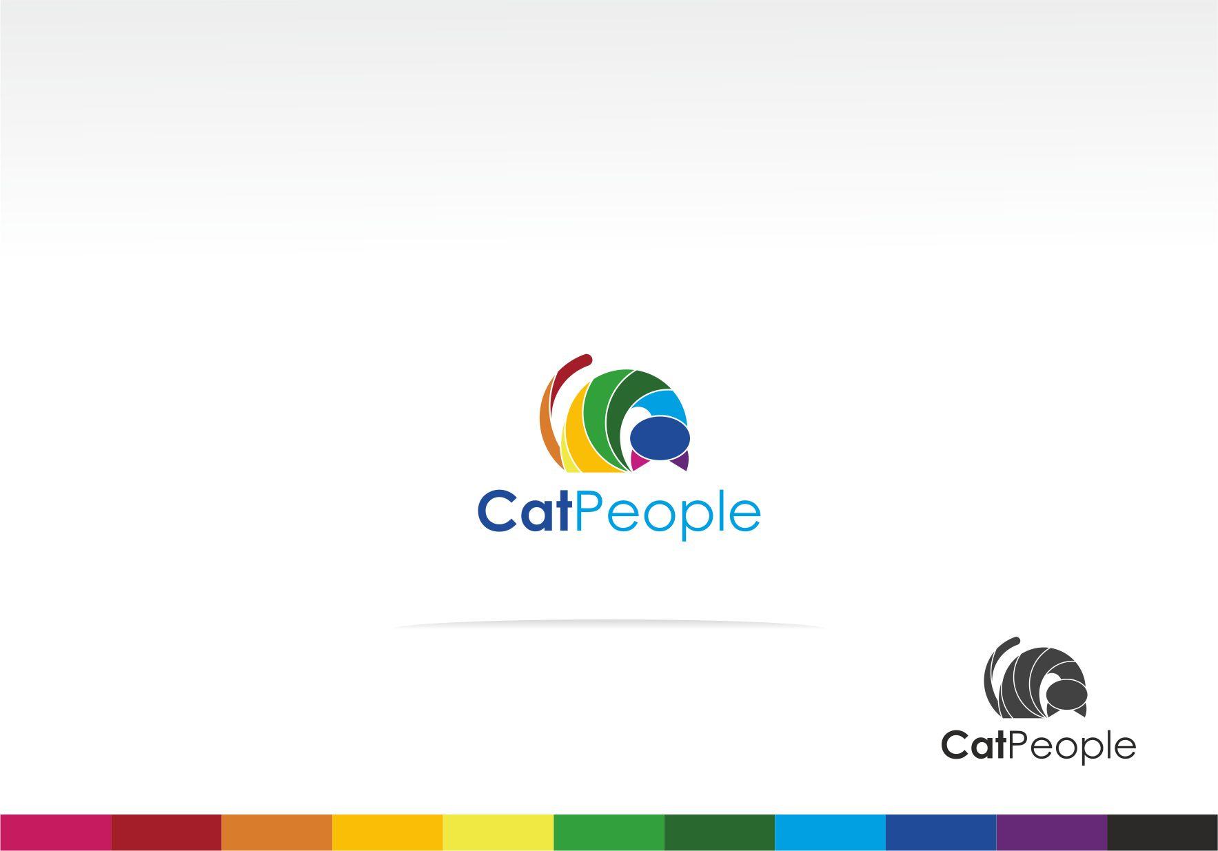 Логотип для информационного ресурса CatPeople - дизайнер La_persona