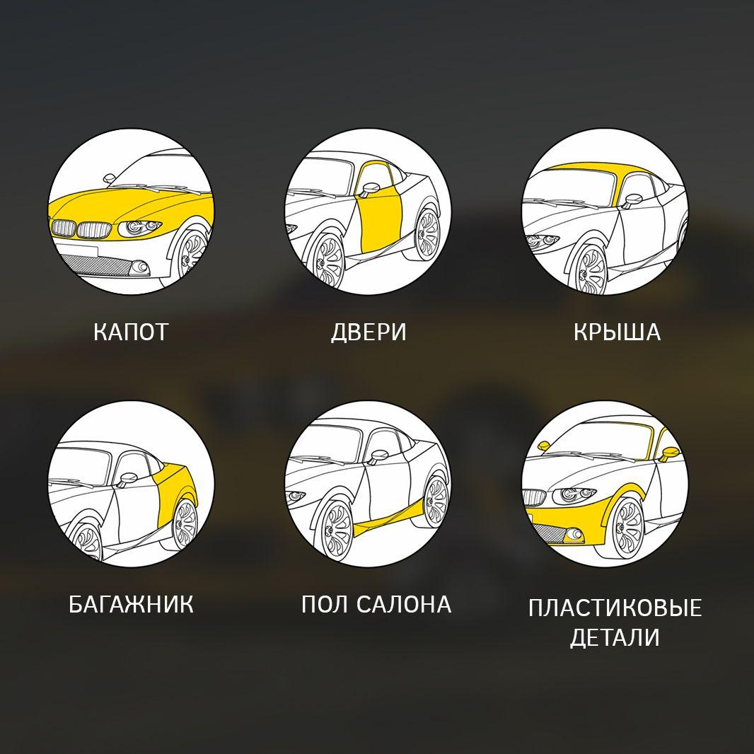 Иконки для сайта шумоизоляции авто - дизайнер everypixel