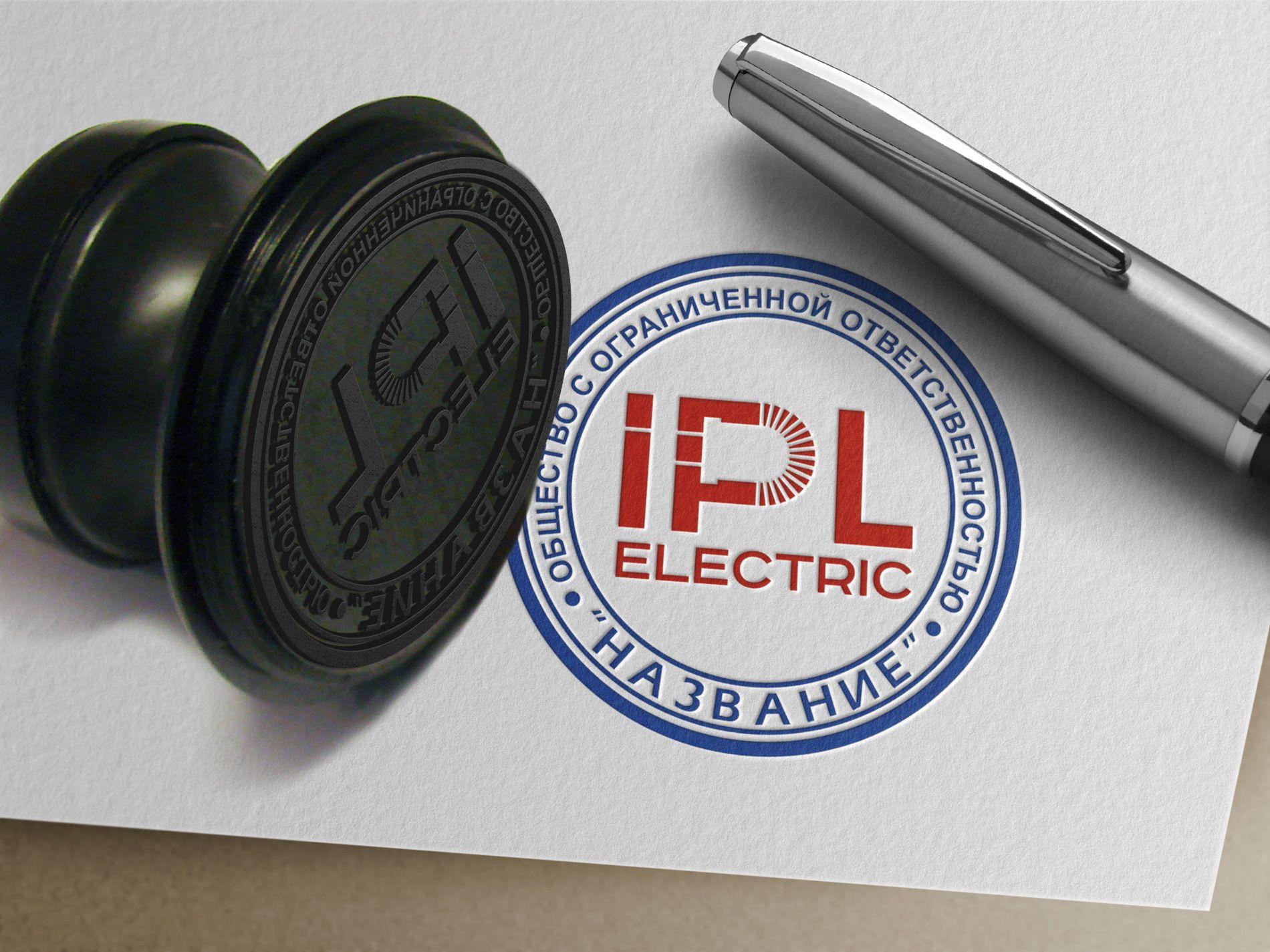 Логотип новой компаний IPL ELECTRIC  - дизайнер kras-sky