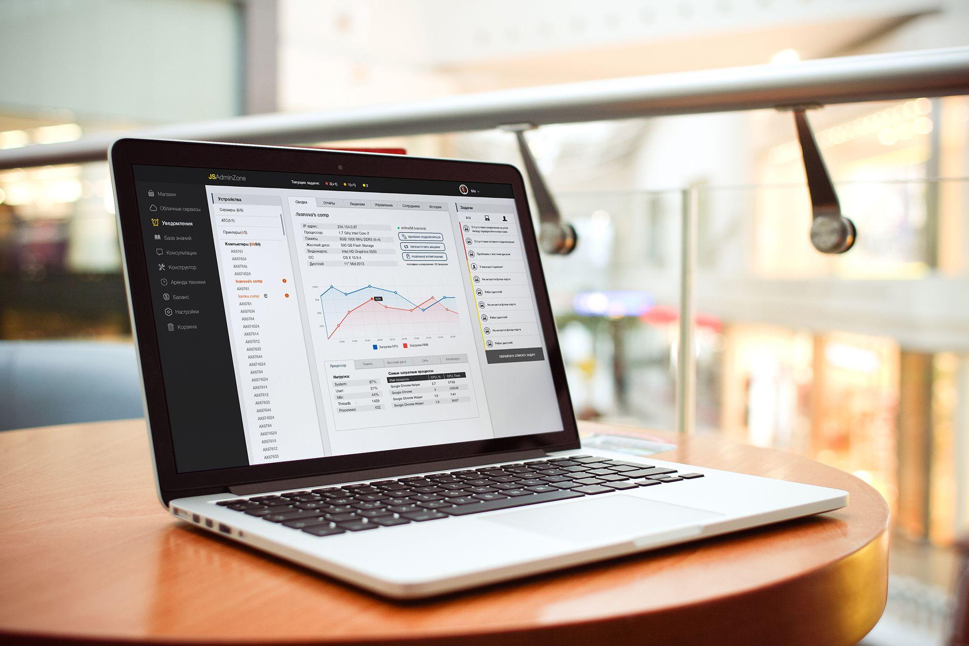 Дизайн интерфейса веб-сервиса - дизайнер screaminsky