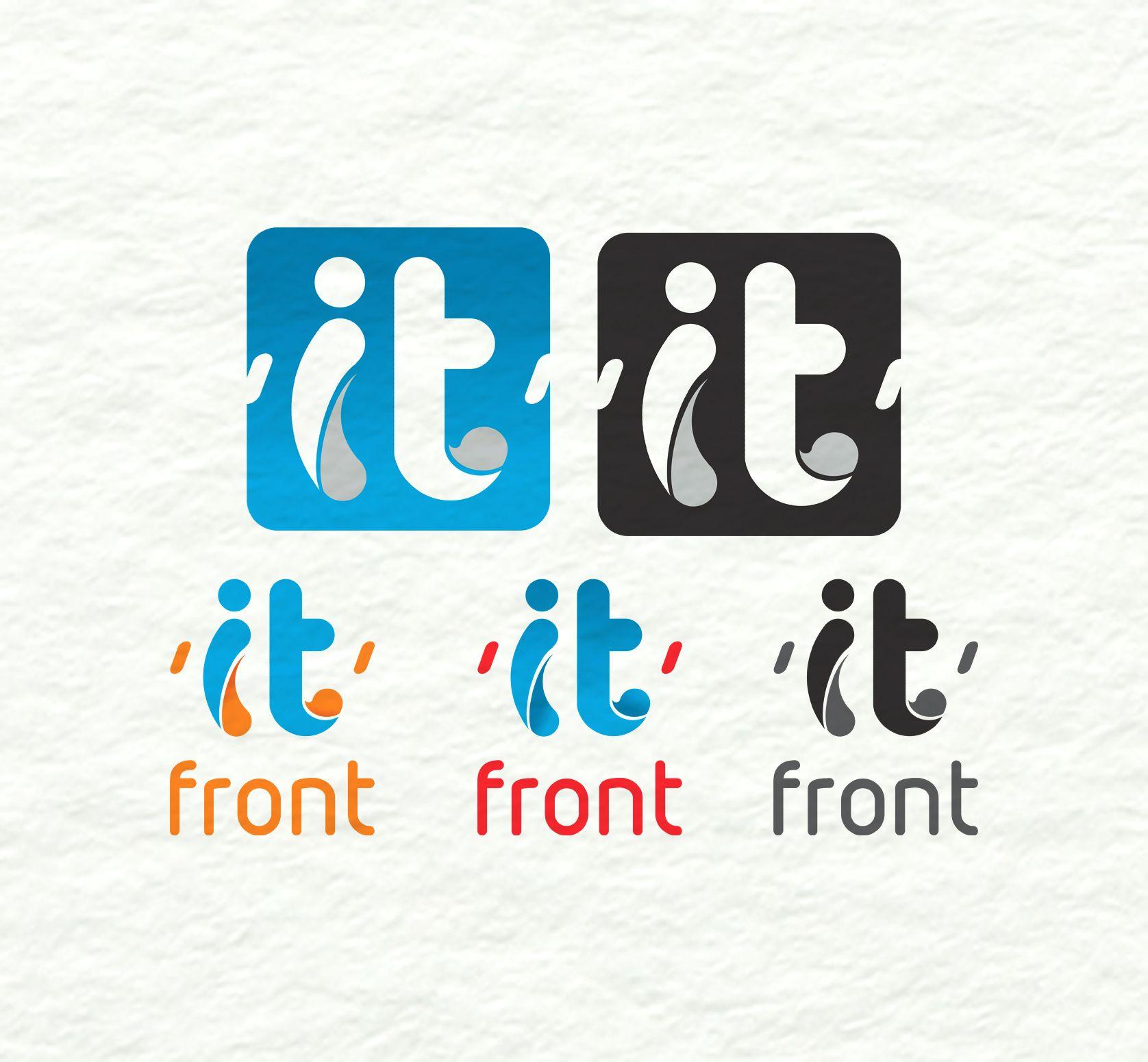 Создание логотипа компании АйТи Фронт (itfront.ru) - дизайнер kuchupen