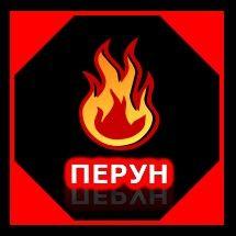 Логотип для компании пожарной безопасности Перун - дизайнер senotov-alex
