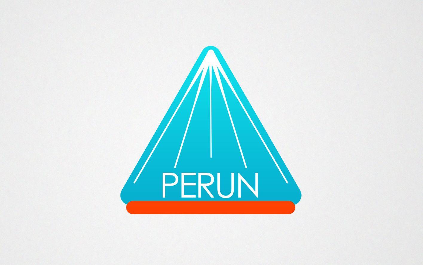 Логотип для компании пожарной безопасности Перун - дизайнер yulyaflower