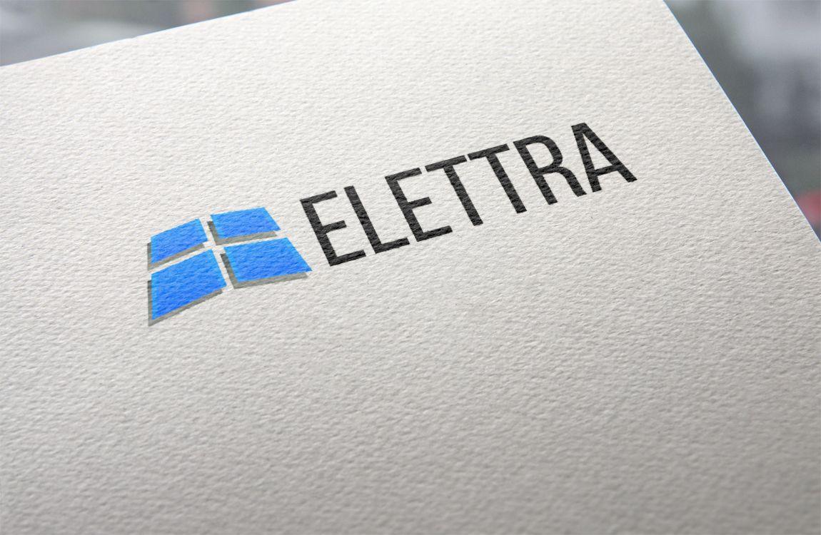 Логотип Elettra - стекольное производство - дизайнер INCEPTION