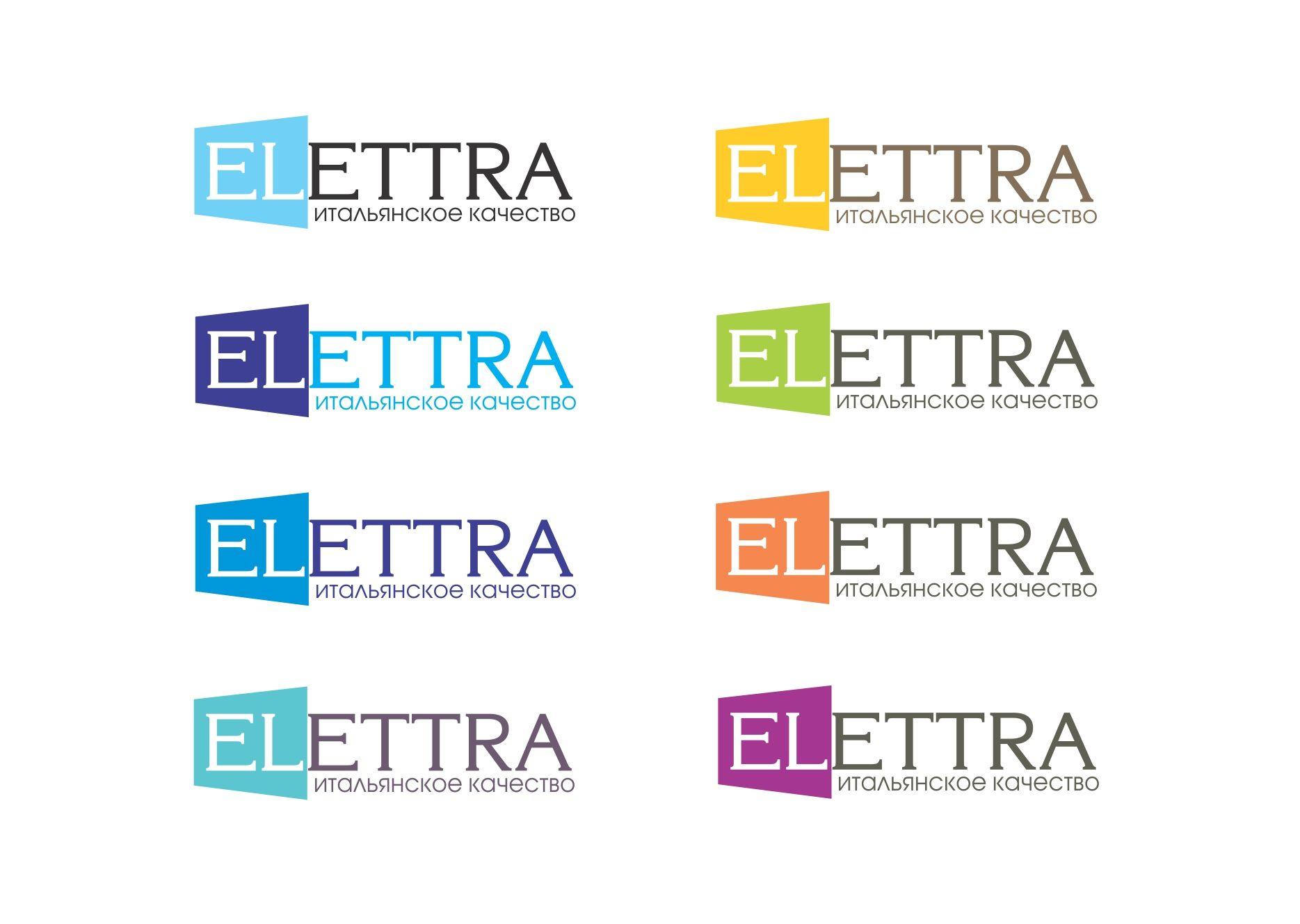 Логотип Elettra - стекольное производство - дизайнер Shmelev