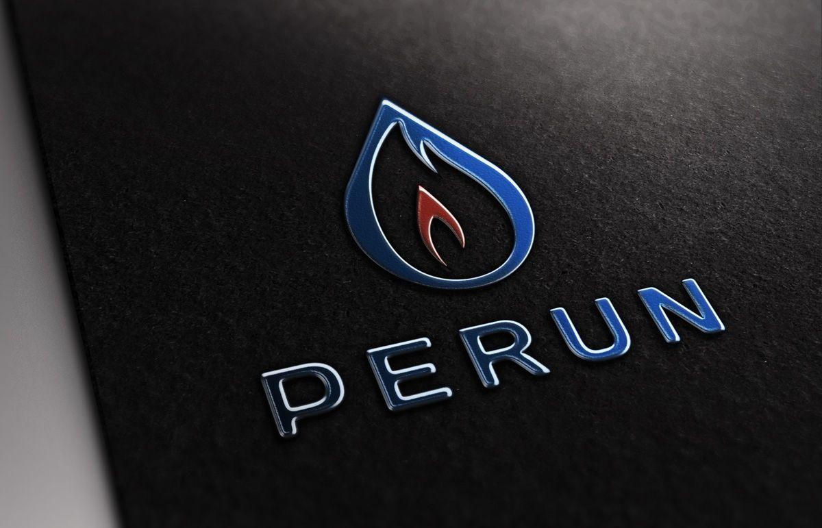 Логотип для компании пожарной безопасности Перун - дизайнер slavikgir