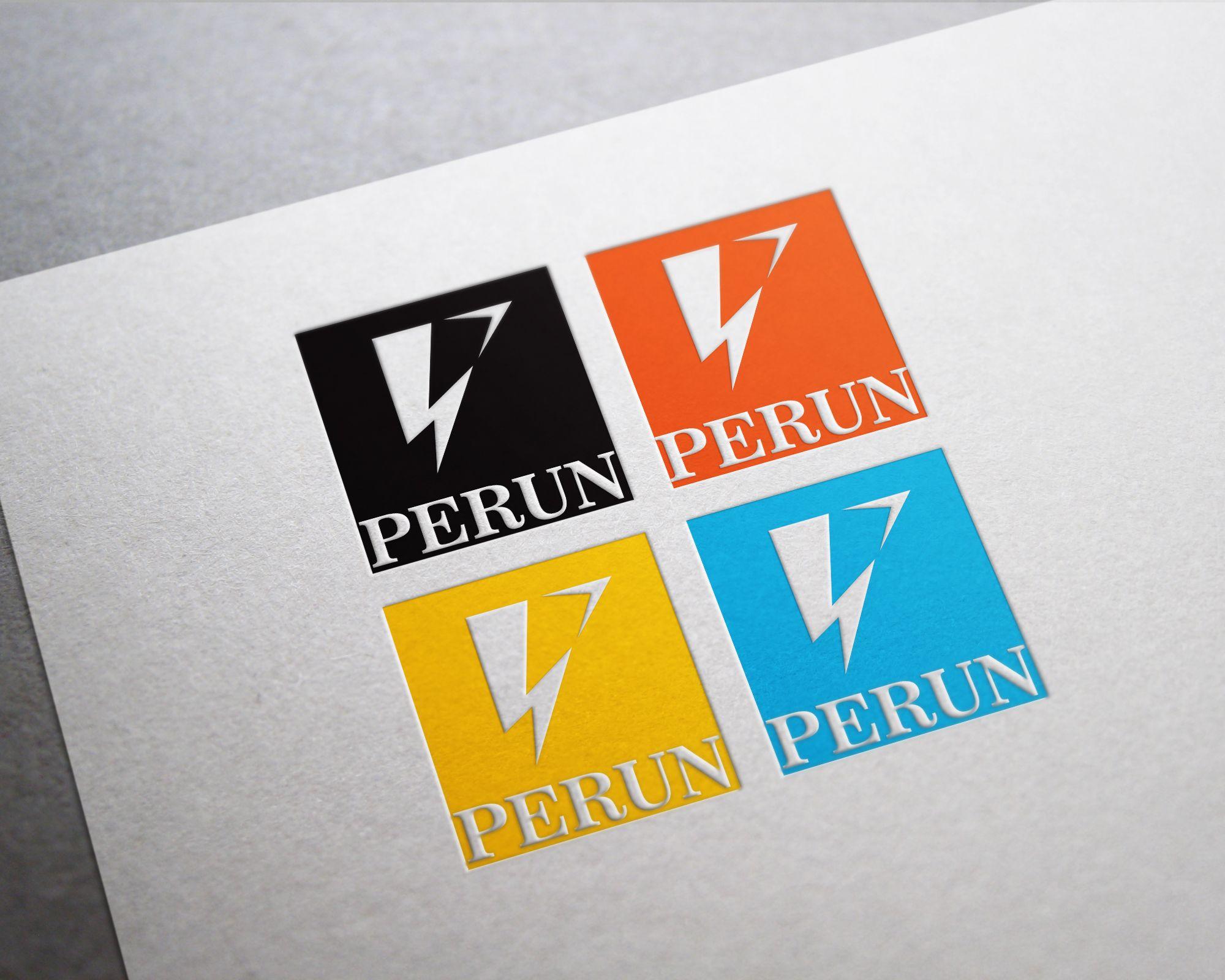 Логотип для компании пожарной безопасности Перун - дизайнер MEOW