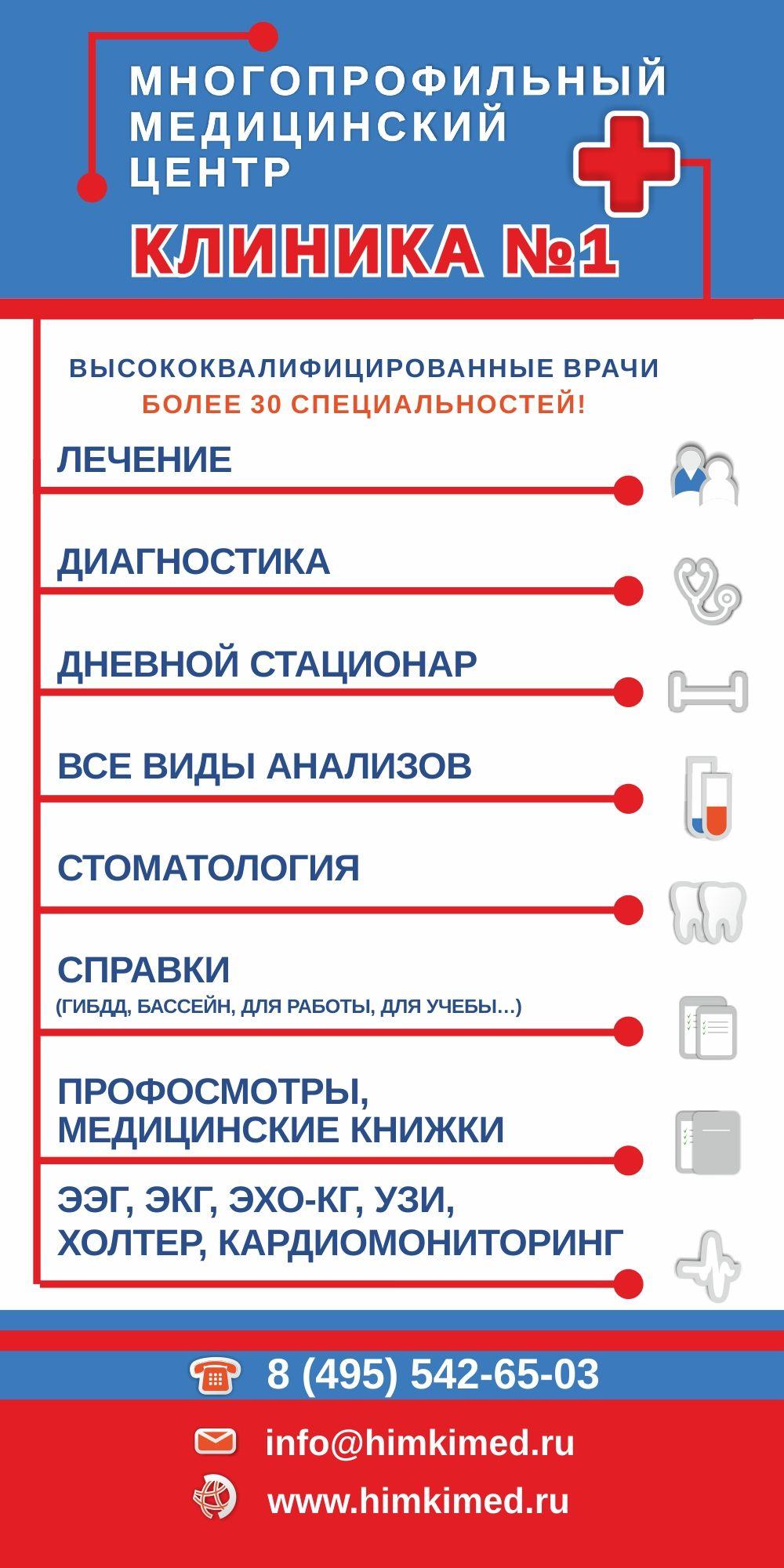 Световой короб в ТЦ для медицинской клиники - дизайнер OlgaAI