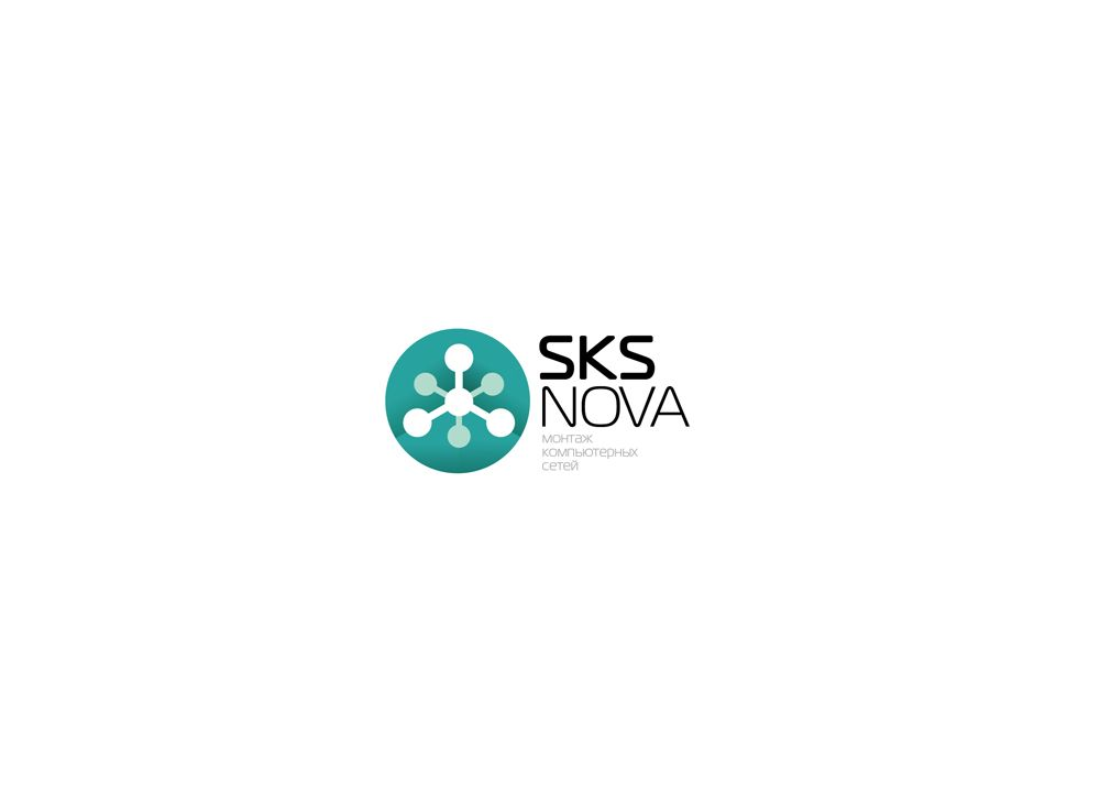 Логотип для компании по монтажу комп. сетей - дизайнер jampa