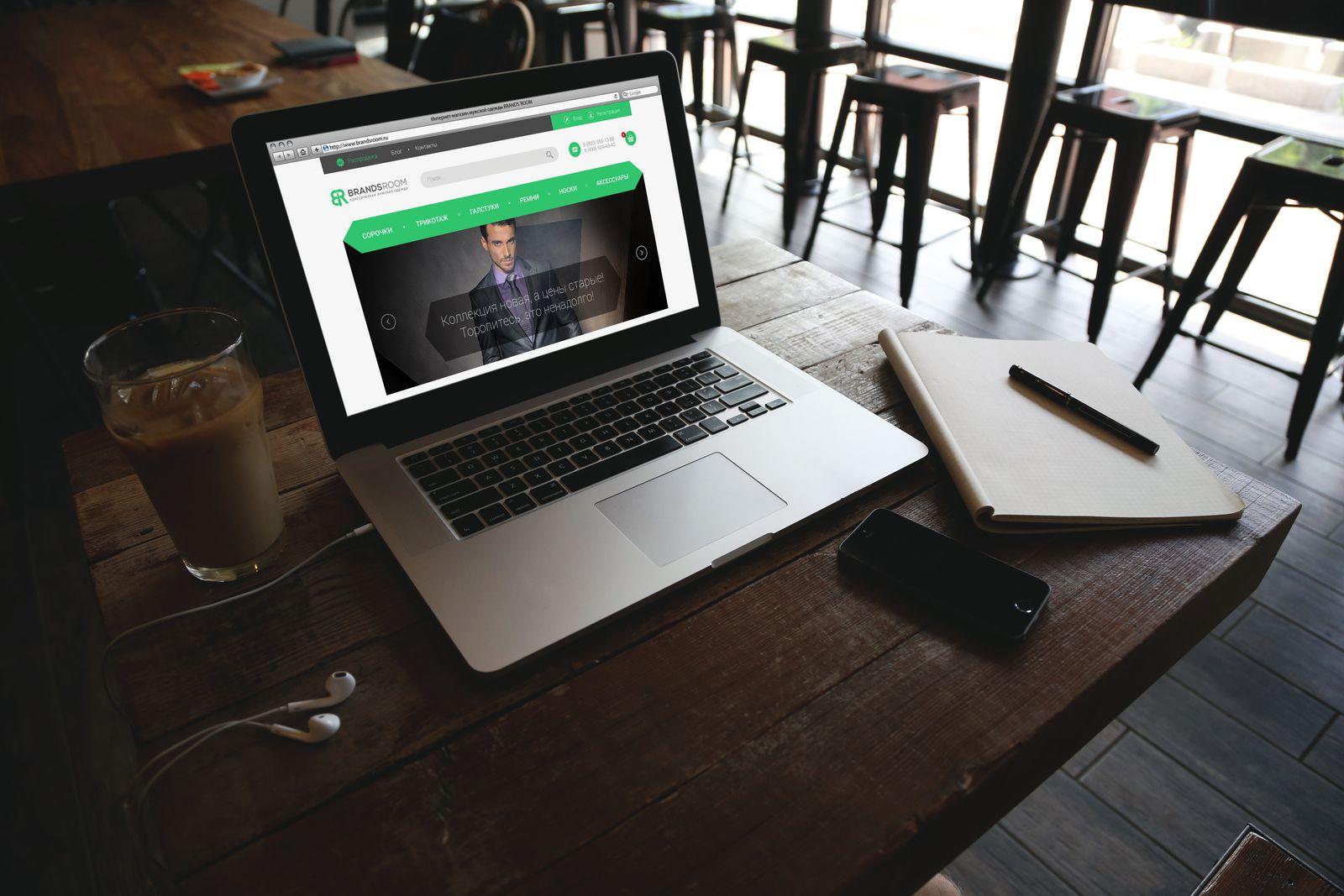 Редизайн главной страницы интернет-магазина - дизайнер funk-liquid