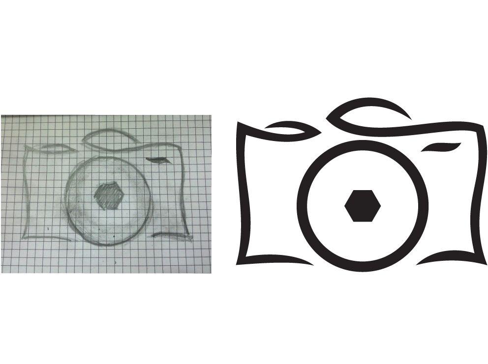 Логотип для фотографа - дизайнер R-A-M