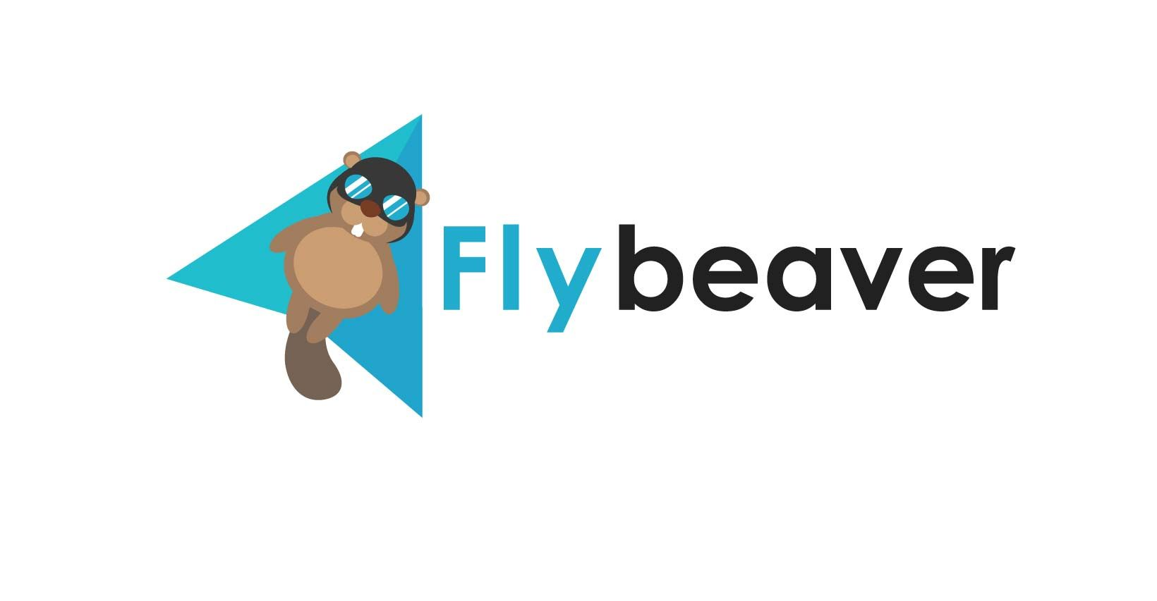 Дизайн логотипа для ИТ-компании flybeaver - дизайнер Victor