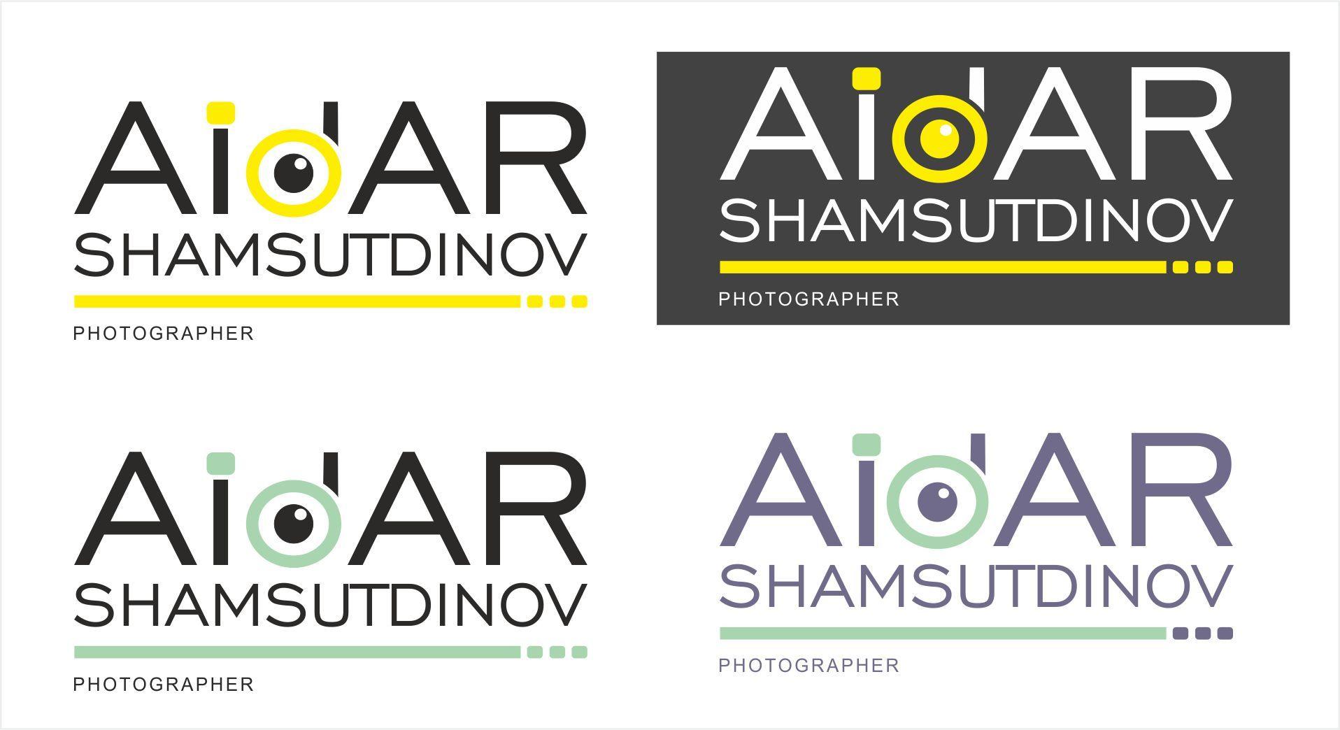 Логотип для фотографа - дизайнер veraQ