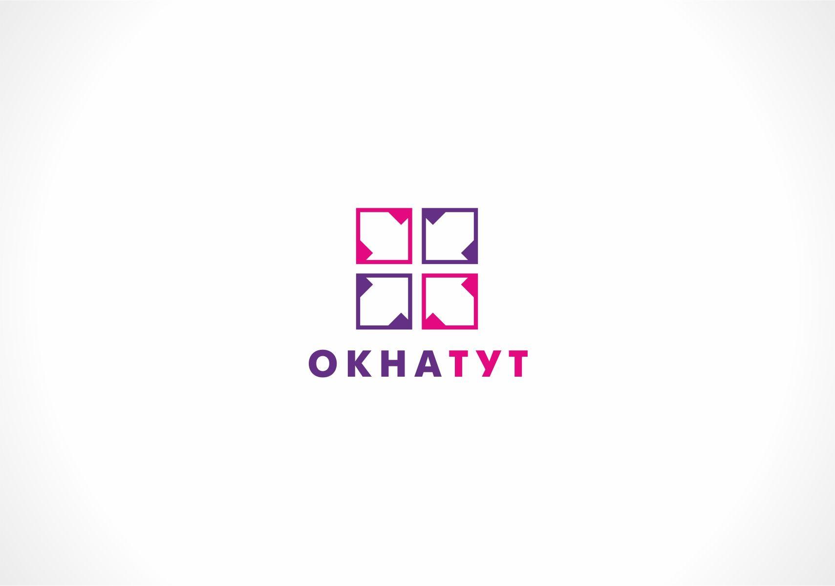 Логотип для сайта Окна тут - дизайнер designer79
