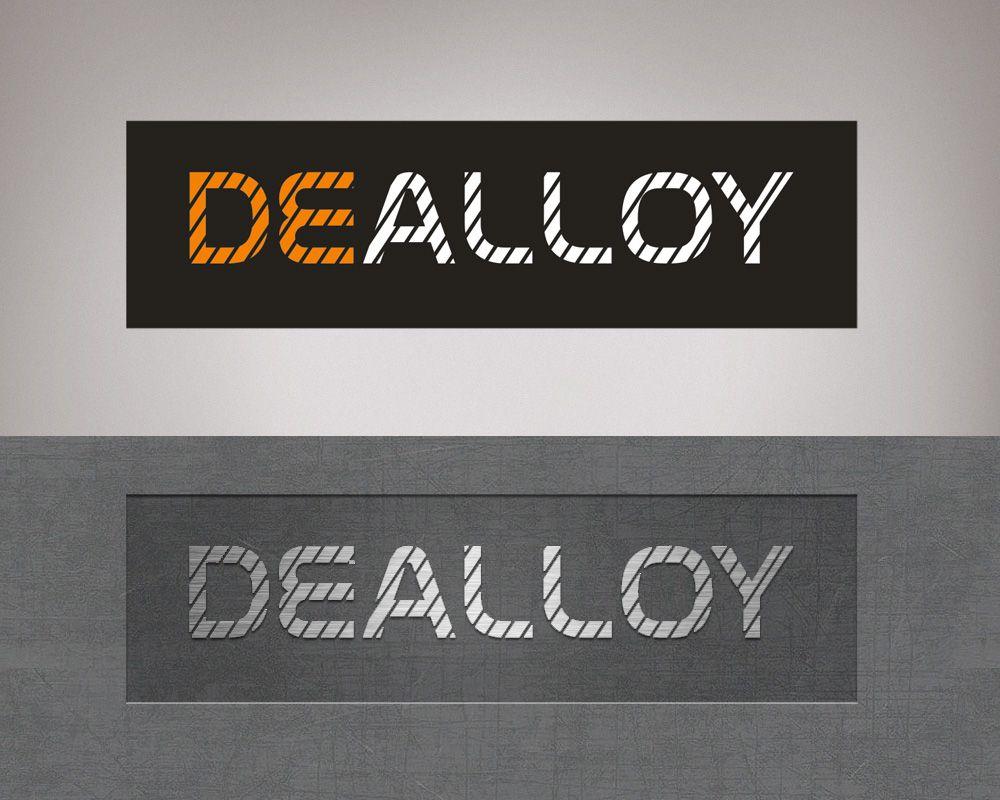 Логотип DeAlloy - дизайнер FONBRAND
