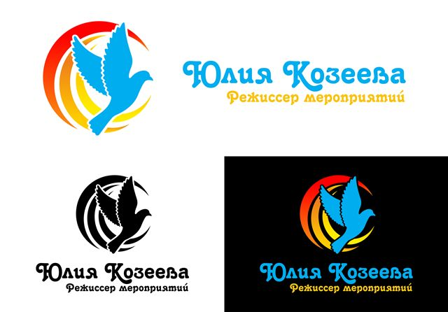 Логотип для режиссера мероприятий - дизайнер smokey