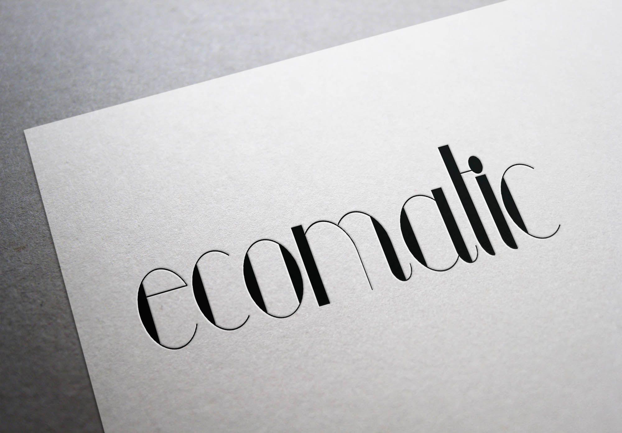 Редизайн логотипа для ECOMATIC - дизайнер polinesina
