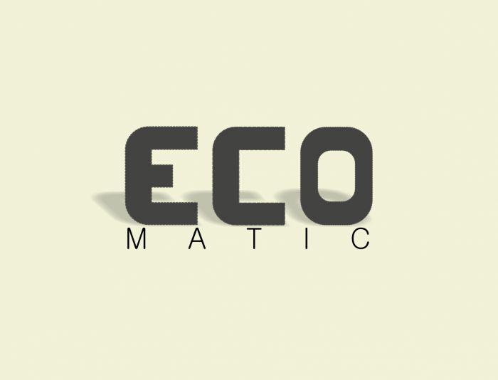 Редизайн логотипа для ECOMATIC - дизайнер YULBAN