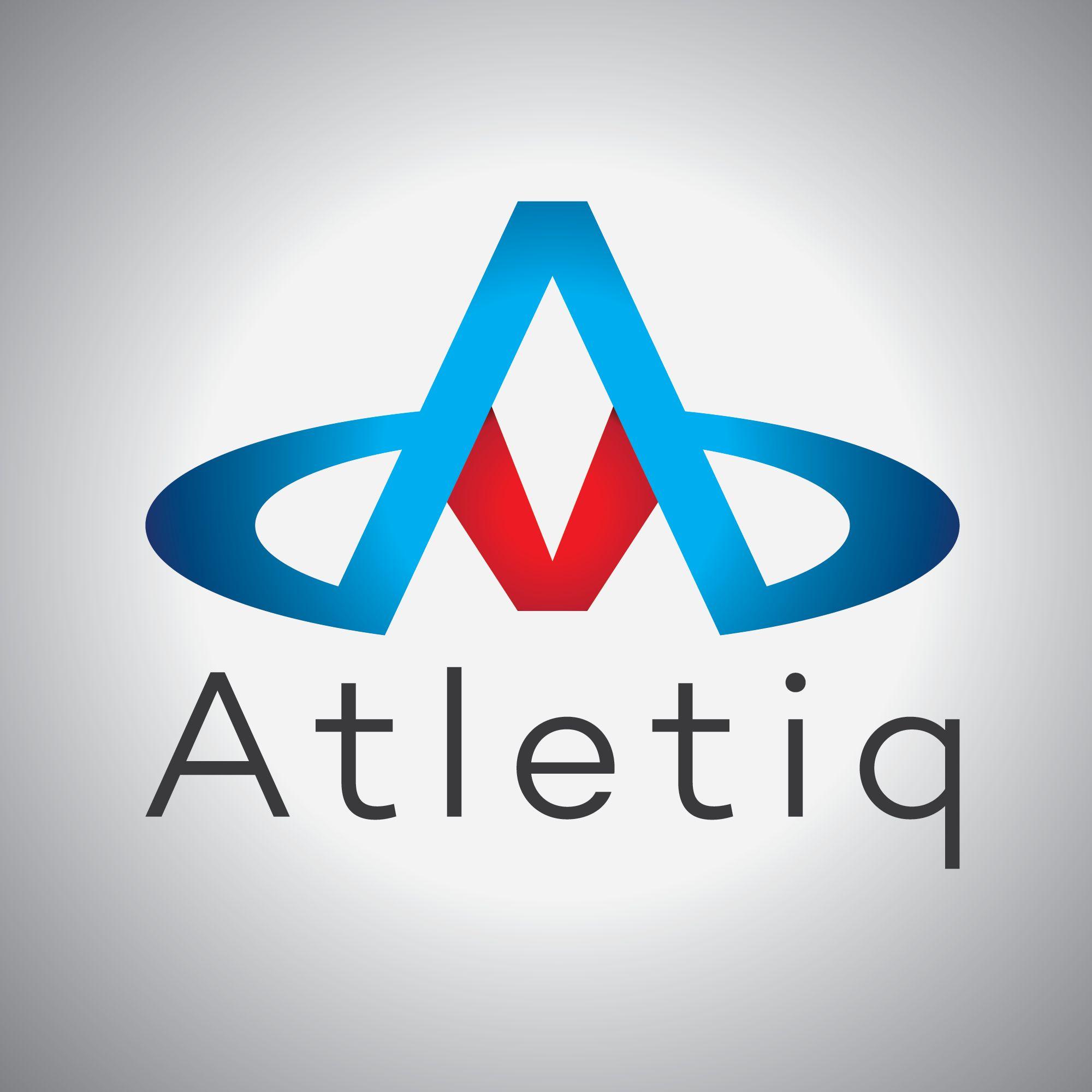 Логотип для спортивного сервиса Atletiq - дизайнер Gregorydesign