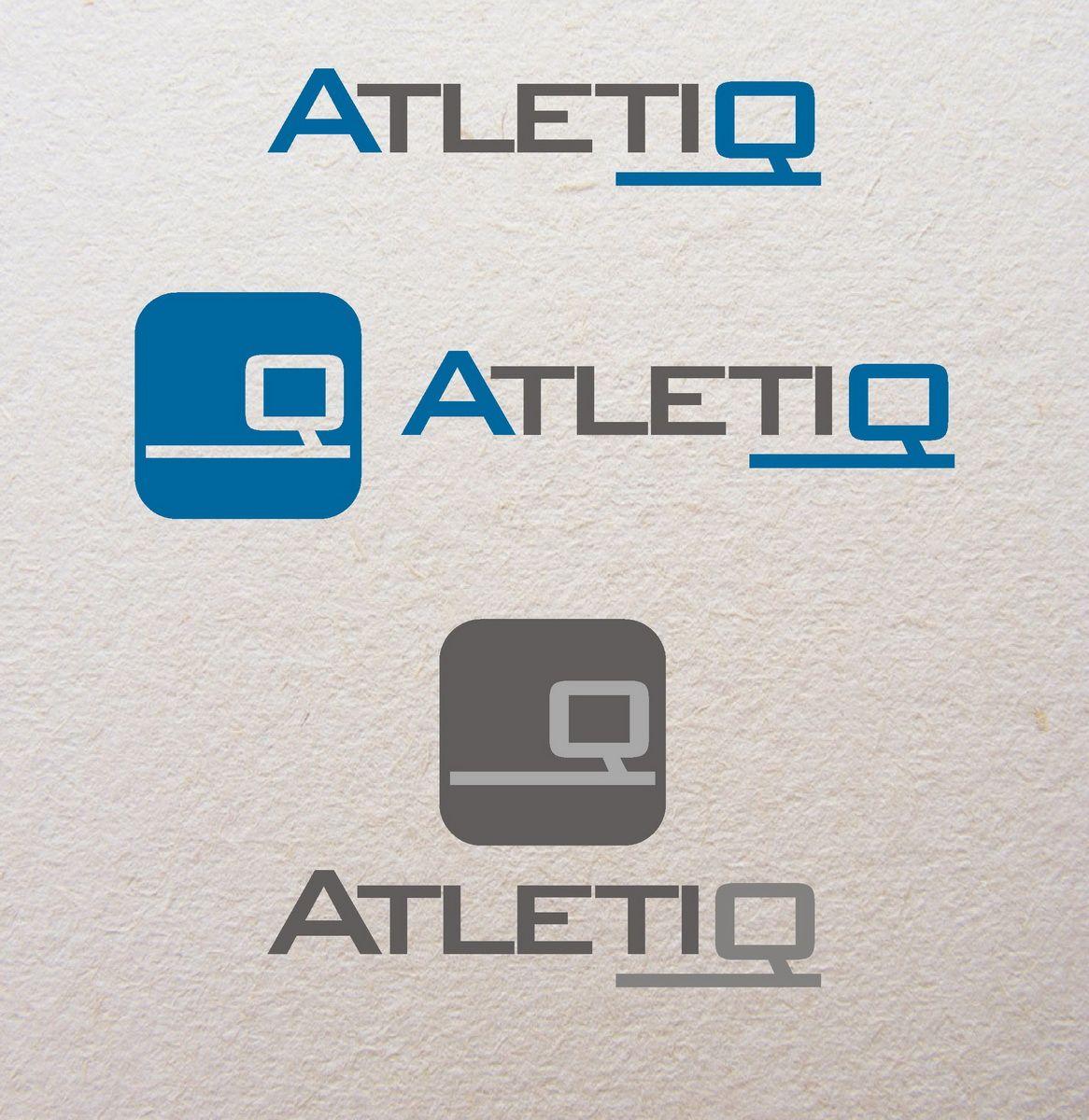 Логотип для спортивного сервиса Atletiq - дизайнер oformitelblok