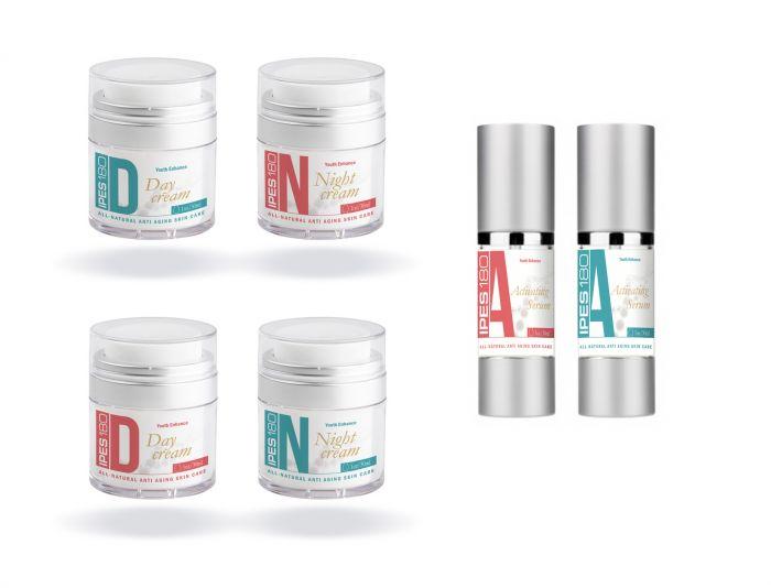 Три наклейки для крема - дизайнер Paroda