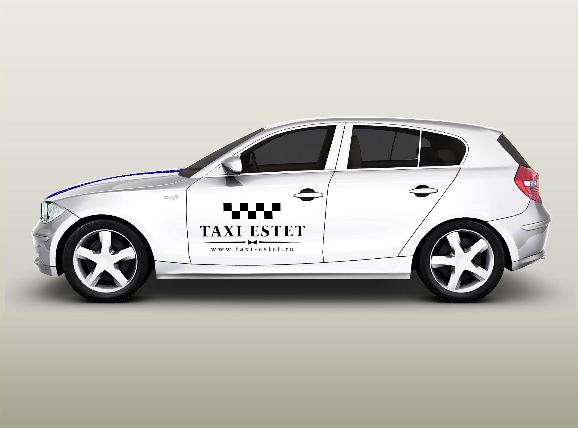 Логотип для taxi-estet.ru - дизайнер U4po4mak