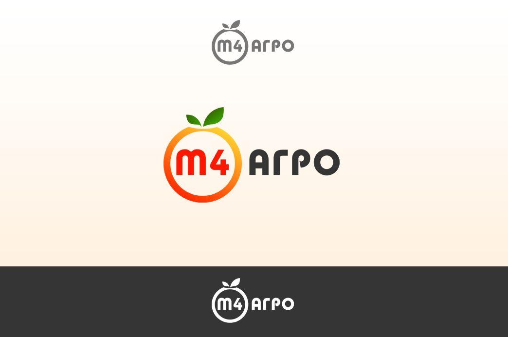 Логотип для M4 АГРО - Российские фрукты - дизайнер Ozornoy