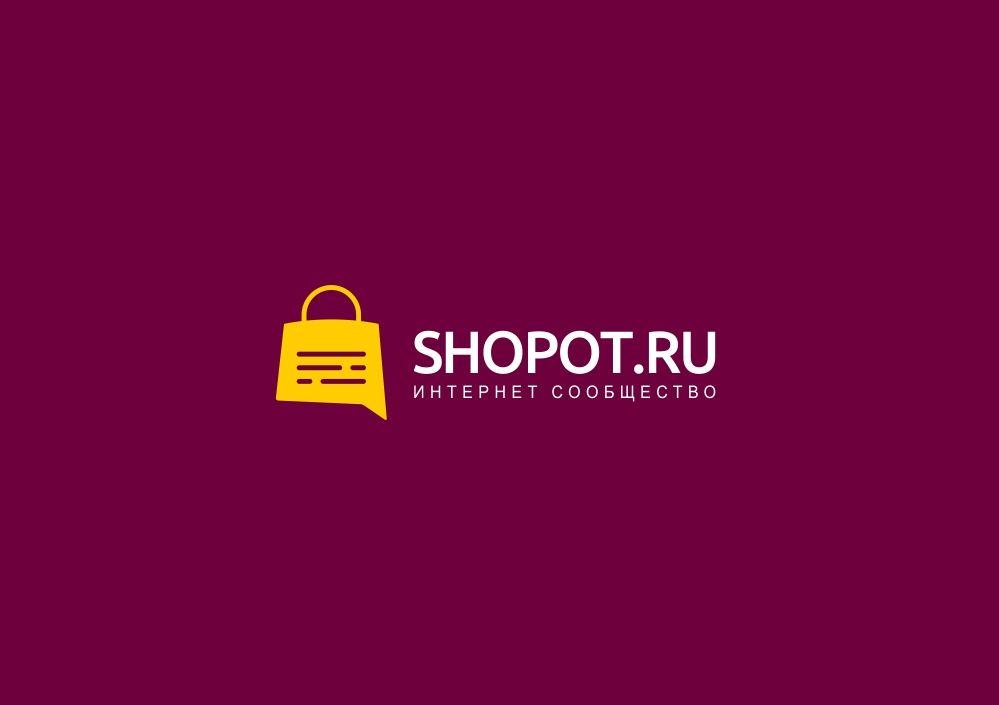 Логотип интернет-сообщества о покупках  - дизайнер zozuca-a