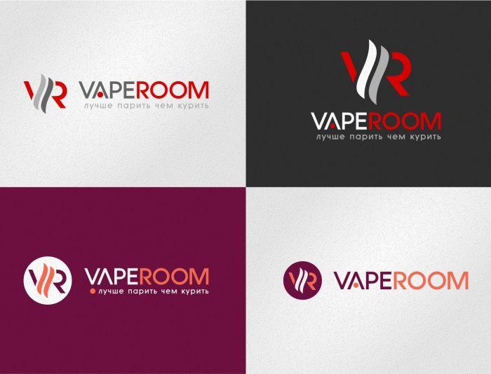 Логотип для сети магазинов VapeRoom  - дизайнер graphin4ik