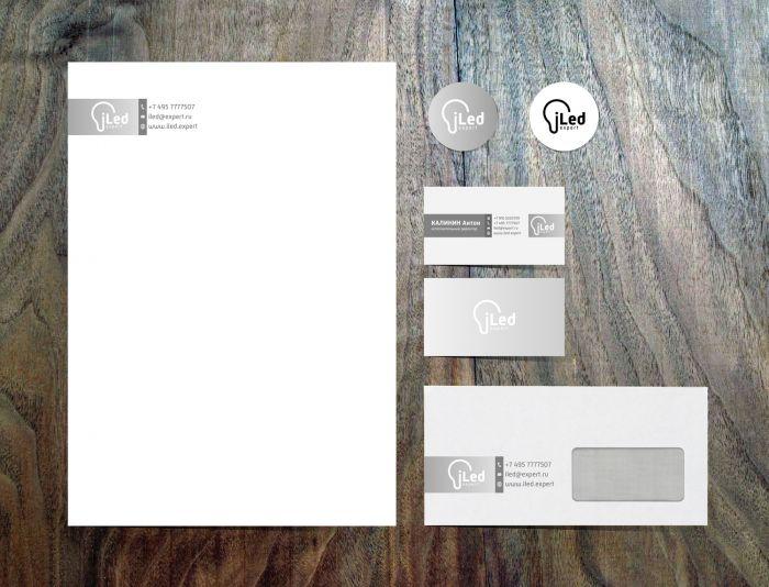 Логотип и фирменный стиль для iLed Expert - дизайнер jampa