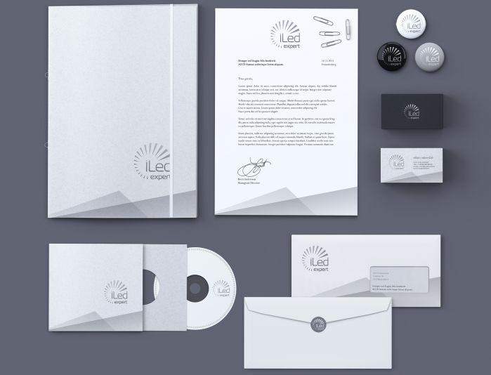 Логотип и фирменный стиль для iLed Expert - дизайнер Alexey_SNG