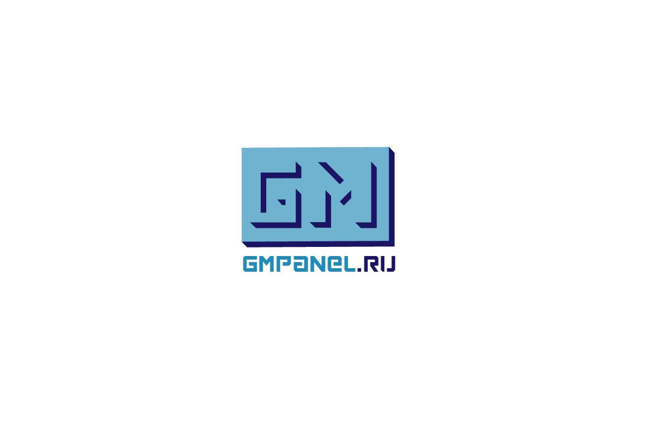 Логотип для сайта GMLPANEL.RU - дизайнер V0va