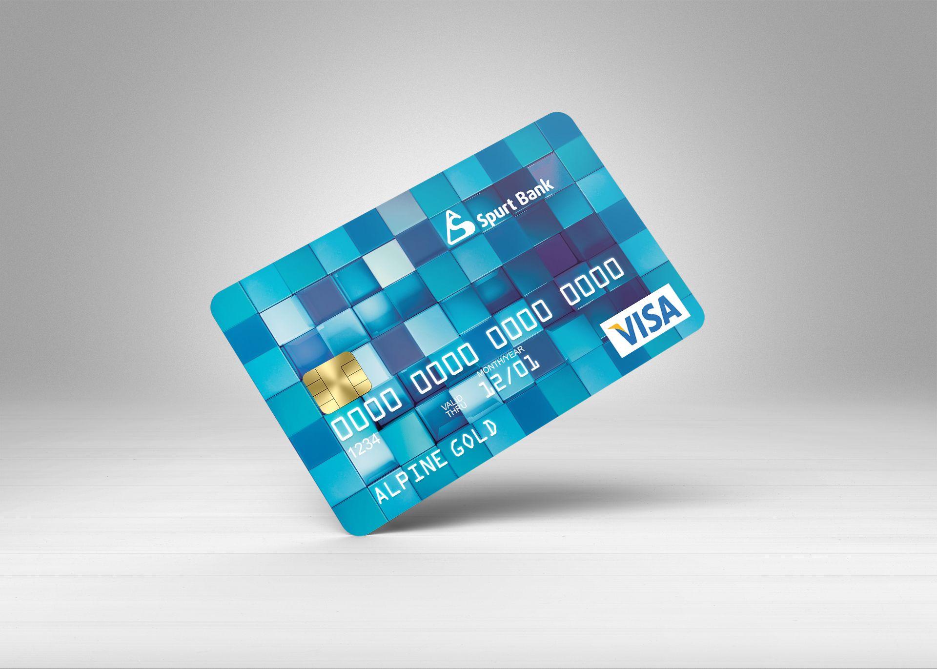 Дизайн банковской пластиковой карты  - дизайнер alpine-gold