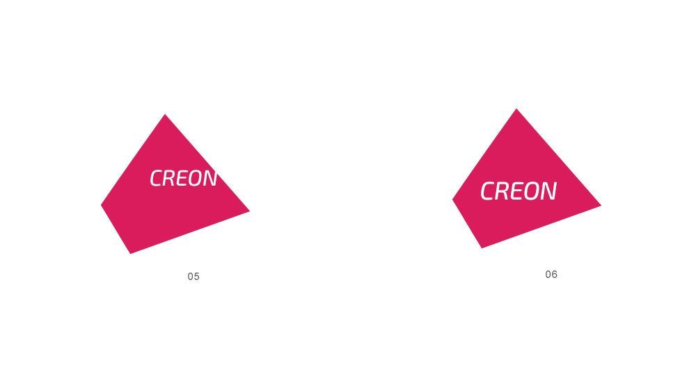 Лого для агентства промо-персонала Creon - дизайнер GreenRed